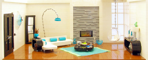 Retro Modern Room Design