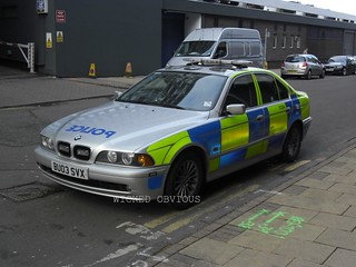 West Midlands Police BMW 530d saloon BU03 SVX (TC04)