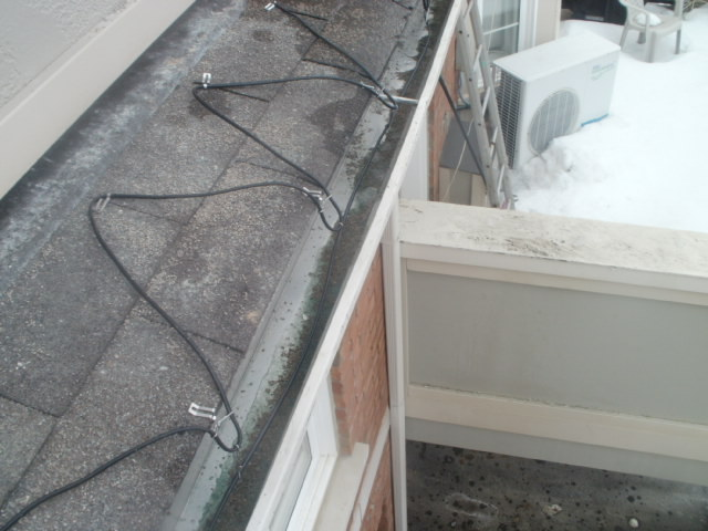 Installing Heating Cable Roof : Heating cable install mr roof repair flickr photo