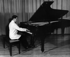 classical music, musician, pianist, piano, keyboard, jazz pianist, monochrome photography, monochrome, black-and-white, person, black, sitting,