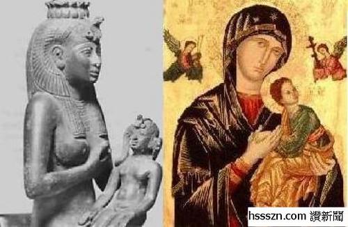 isis-horus-mary-jesus_结果