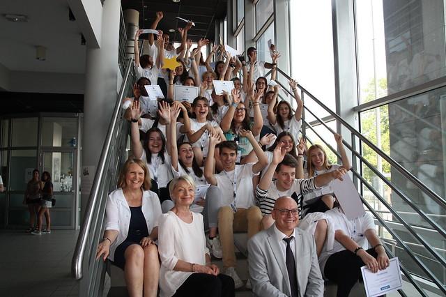 Le lycée professionnel du Premier Film est devenu « École ambassadrice » du Parlement européen