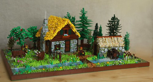Farmhouse in the Forest