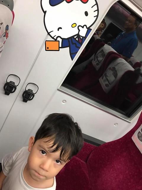 林佳蓉母子坐往花蓮火車 (7)