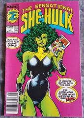 Sensational She-Hulk vol 1 #1 1989