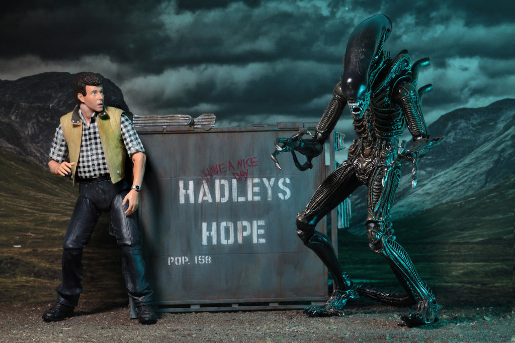 NECA 異形2【巴克&異形戰士組合包】Burke&Aliens Warriors Hadley's Hope Set