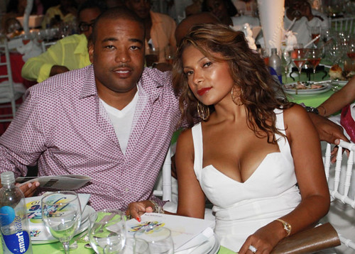 Chris Lighty (L) and Veronica Lighty