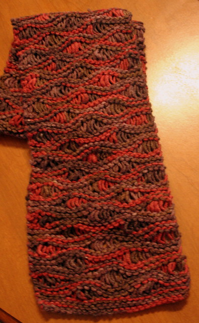 Knit Drop Stitch Scarf Pattern : Drop Stitch Scarf Flickr - Photo Sharing!