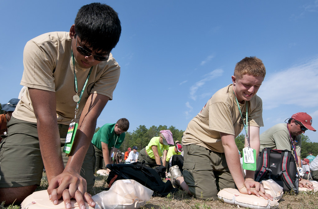 Scouts to attempt CPR world record