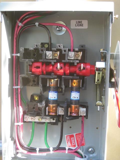 Ac Disconnect Wiring Detail