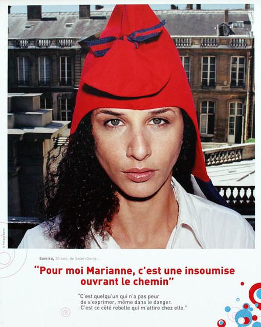 Samira Bellil in Phrygian hat (2003)