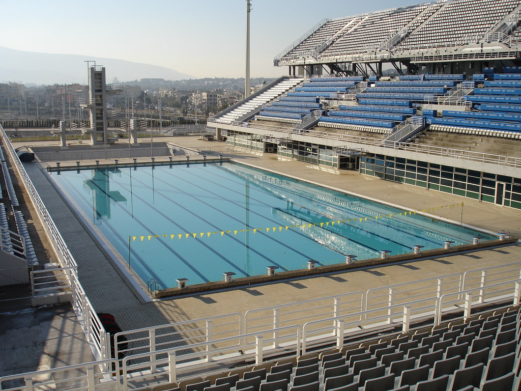 Olympic Swimming Pool Top View