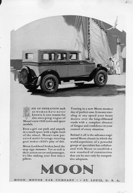 1926 Moon Motor Car Company Ad Flickr Photo Sharing