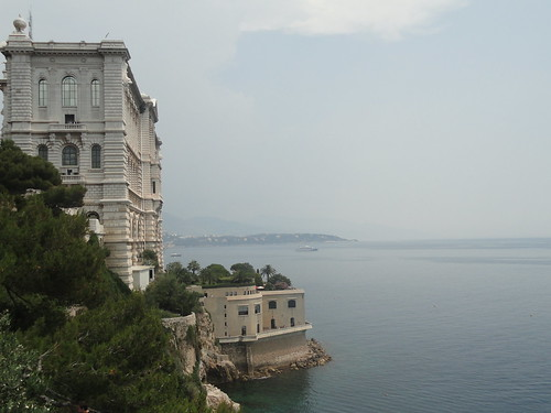 The Ocean Meets The City Of Monaco