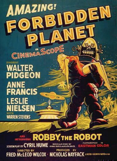 Forbidden Planet (Poster)