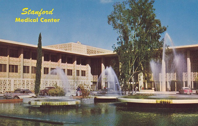 Stanford Medical Center 1959 - TO BE DEMOLISHED