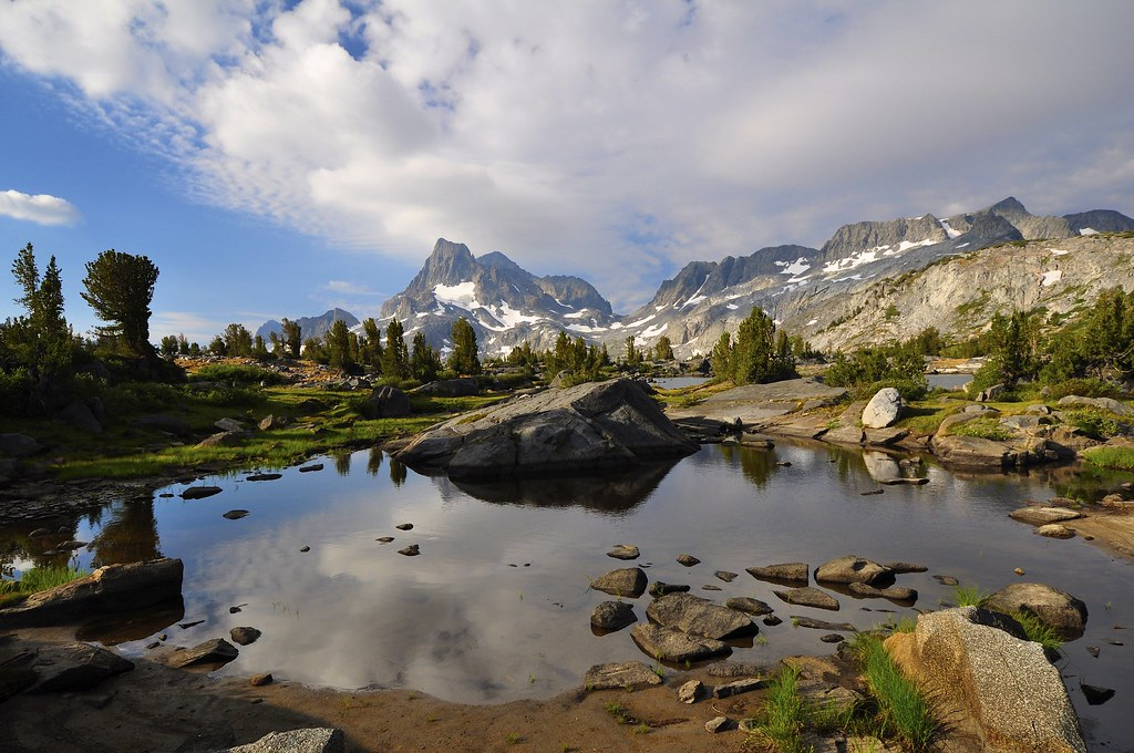 Island Pass Area, John Muir Trail, Ansel Adams Wilderness