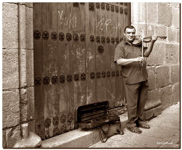 el violinista del palacio de Carvajal