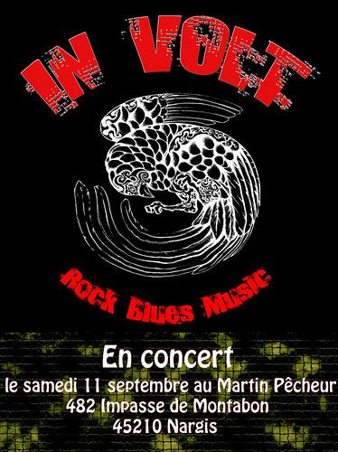 Rock blues music martin pêcheur