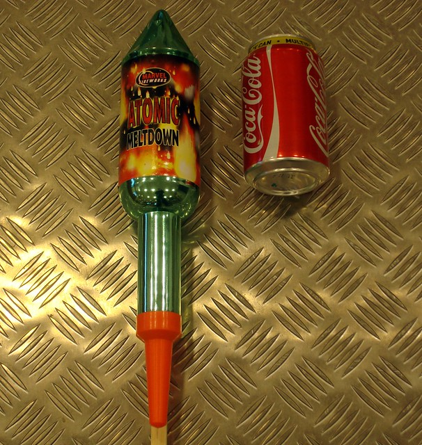 Epic Fireworks - Big Rockets - Atomic Meltdown