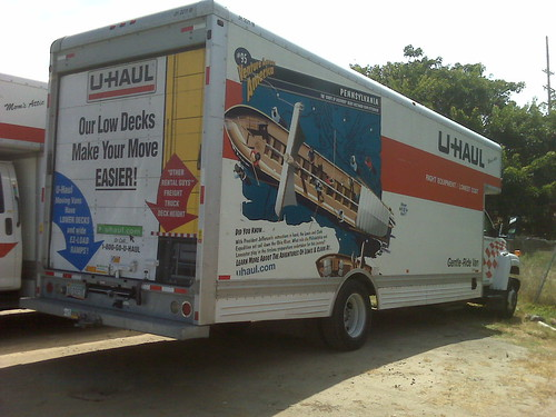 uhaul on labor day.