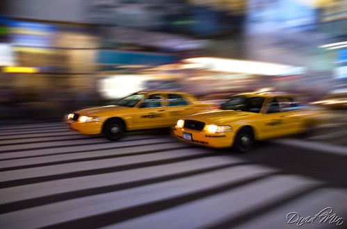 NYC - Fast & Furious Yellow Cabs