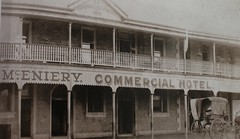 Commercial Hotel, Dalby, Qld, about 1920.