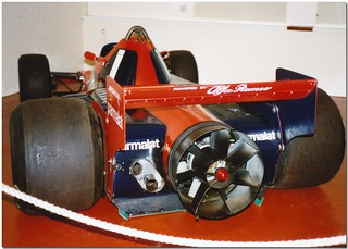 "1978 Brabham Alfa Romeo BT46B  F1 ""Fan Car"". Donington Grand Prix Collection 1989"