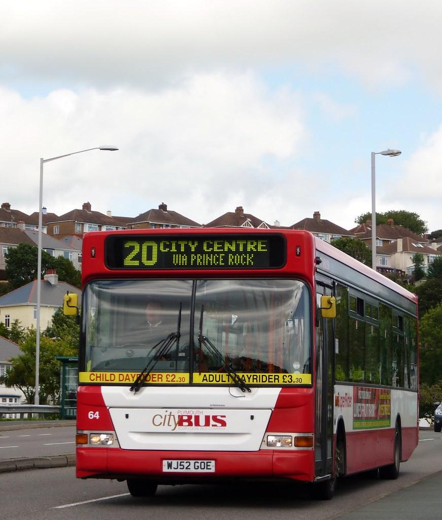 Plymnouth Citybus 064 WJ52GOE