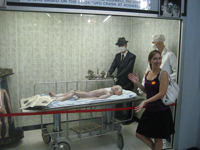 Header of Alien Autopsy