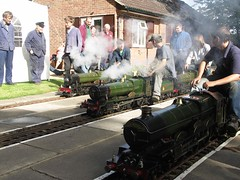 GWR line up at Swindon's miniature railway