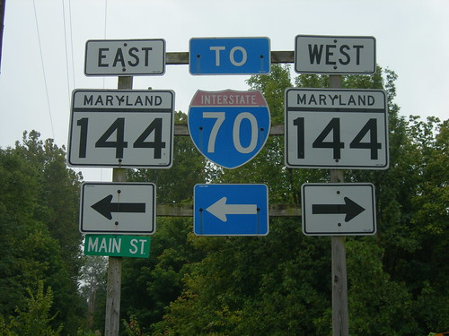 Maryland Road Signs