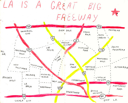 LA Highway Map