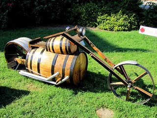 Whiskey Barrel Art