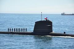 vehicle, ship, sea, watercraft, ballistic missile submarine,