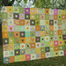 Fat Quarterly quilt along top