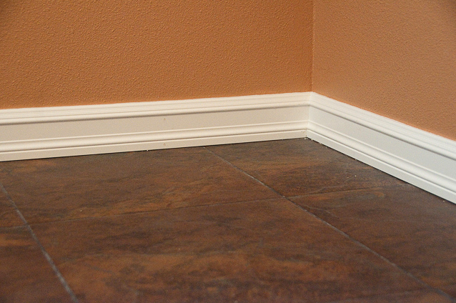 Laundry Room Remodel Baseboard Detail Flickr Photo