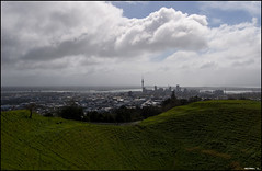 View on Auckland from Mount Eden