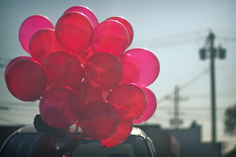 Balloon love!