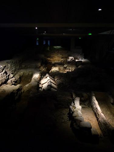 crypte archéologique de la cathédrale Notre-Dame-du-Bourg, Digne-les-Bains (Alpes de Haute Provence, France)