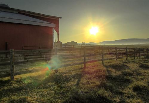 sunrise canon farm powershot hdr virgina waynesboro friendlychallenges