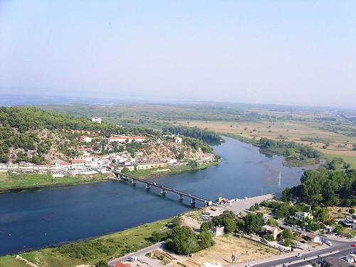 Buna (Ada Bojana) River, Albania
