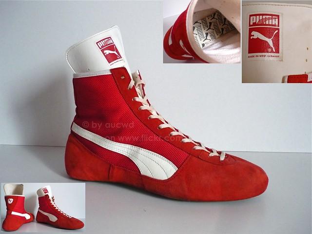 Wrestling Shoes Vintage 70
