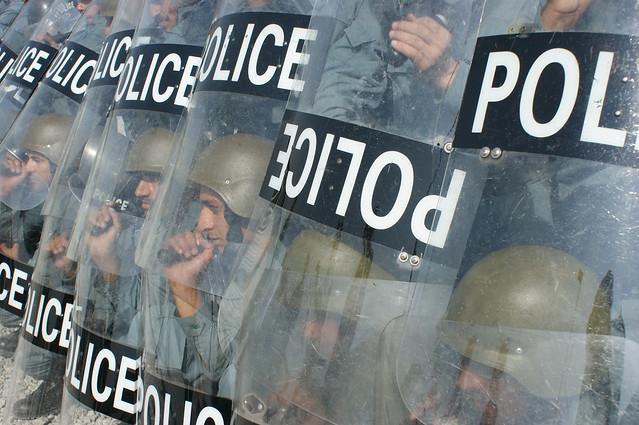 Afghan Police Training with Italian Carabineri