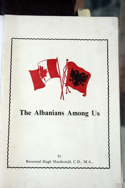 Header of Albanians