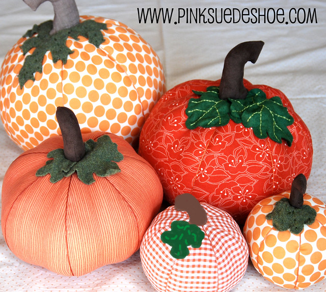 Fall pumpkins tutorial pinksuedeshoe for Pumpkin stems for crafts