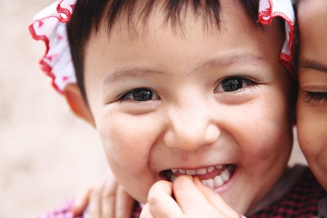 カシュガルの少女