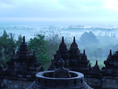 Borobudur Dawn
