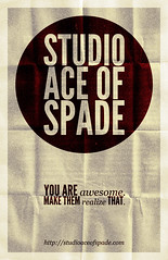 Studio Ace of Spade - Monthly poster series - October 2010
