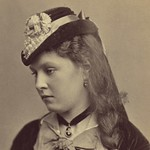 (animated stereo) Marianne (Minnie) Conway, 1870s